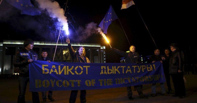 Tentative de coup d'État impérialiste à Minsk