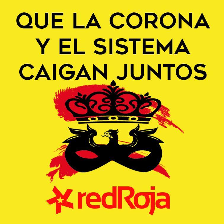 Espagne : Déclaration de RED ROJA à propos de la fuite du roi Juan Carlos !