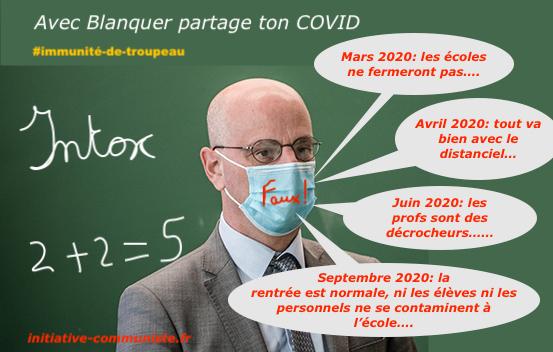Avec Blanquer, partage ton #COVID-19 à l'école !