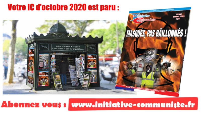 IC n°221 d'octobre 2020 est paru : lisez-le, achetez-le !