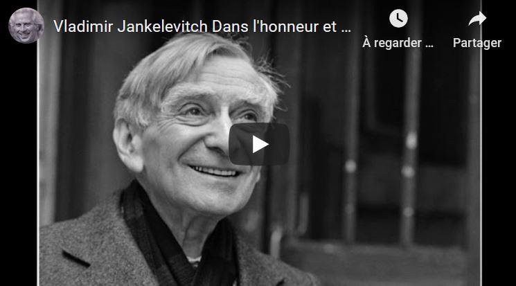 Dans l'honneur et la dignité par Vladimir Jankélévitch.