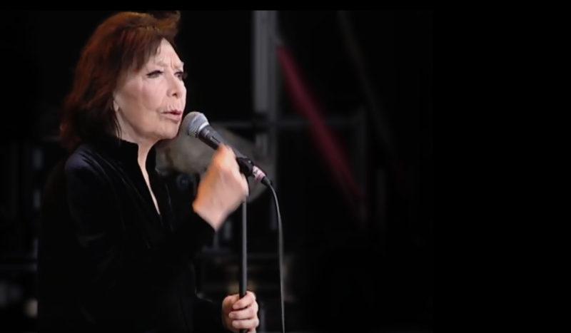 Juliette Gréco, le rouge, le noir et la chanson française…
