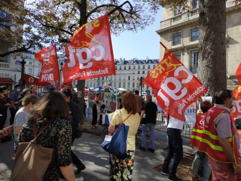 Stopper la LPPR, un enjeu pour défendre avec la recherche publique notre avenir.