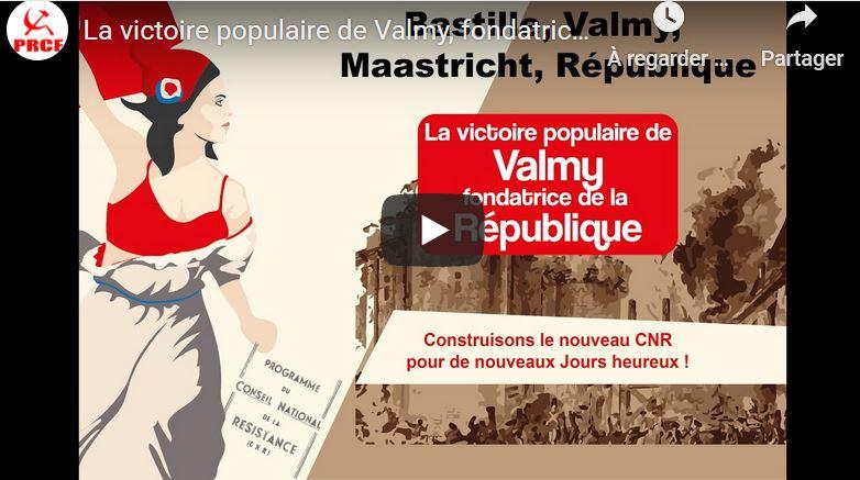 La victoire populaire de Valmy, fondatrice de la République