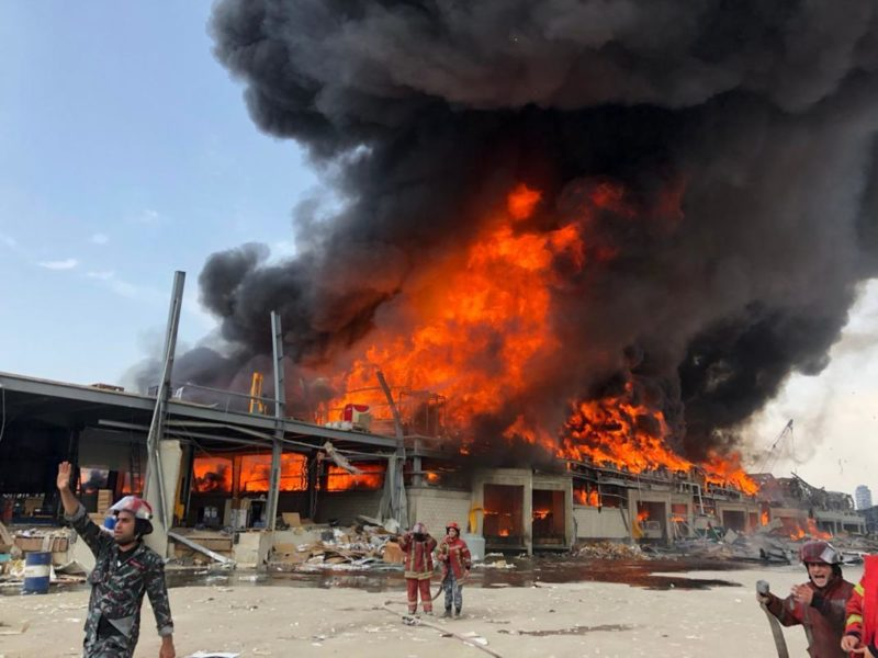 Liban : Nouveau crime ou… négligence ? Le port de Beyrouth en feu… !