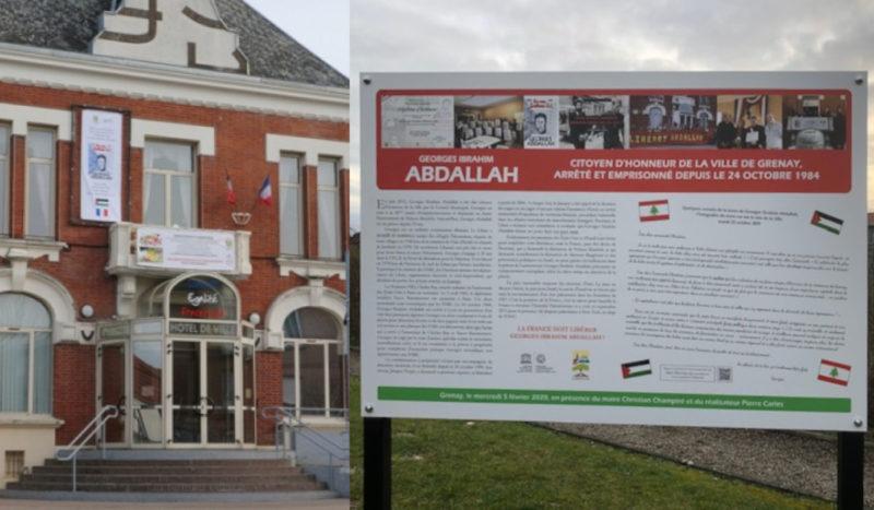 La mairie de Grenay (62) vote pour la libération de Georges Ibrahim Abdallah