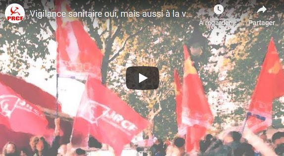 #covid-19 Vigilance sanitaire oui ! mais aussi vigilance DÉMOCRATIQUE, PACIFIQUE, SOCIALE et PATRIOTIQUE par Georges Gastaud