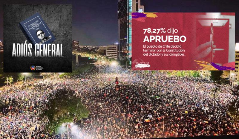 Avec les communistes, le Chili vote pour mettre fin à la constitution de Pinochet !