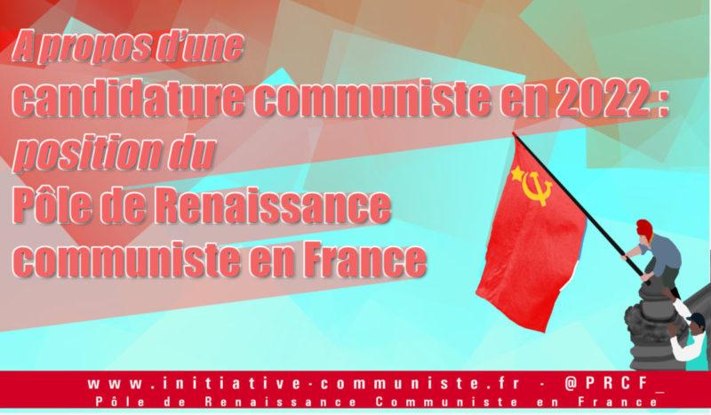 « Une candidature communiste en 2022 ne serait pas une surprise » : une franchement communiste et insoumise, si !