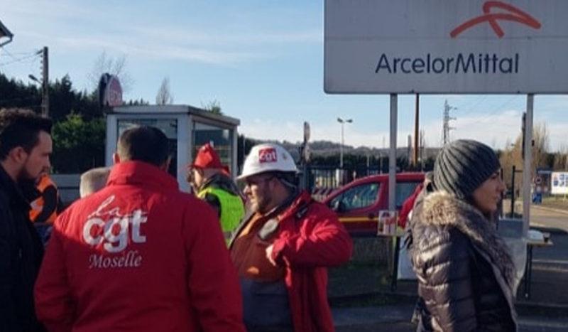 Soutien plein et entier aux salariés de Arcelormittal Florange en lutte!