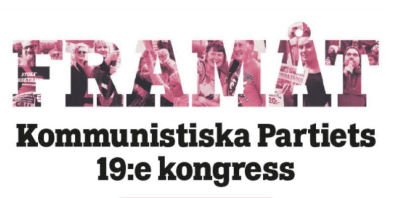 Salut aux communistes suédois à l'occasion de leur 19e congrès