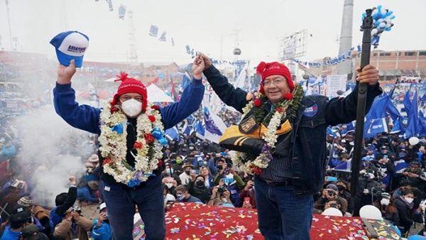 53% : Luis Arce et le MAS d'Evo Morales gagnent la présidentielle en Bolivie pour rétablir la démocratie !