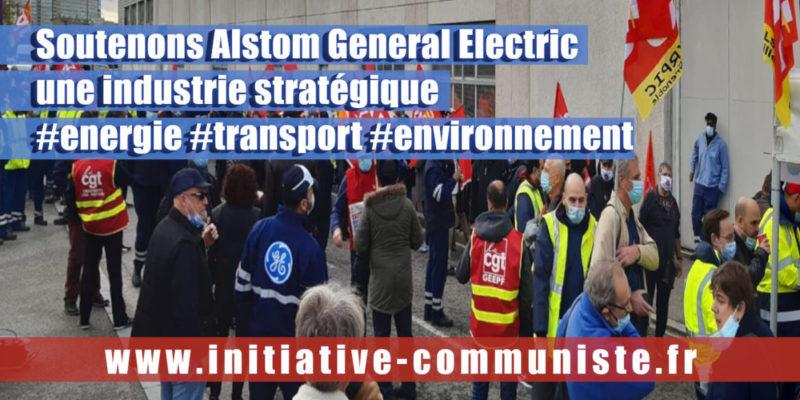 """Casse sociale et industrielle d'Alstom GE : """"la filière énergétique est essentielle"""" entretien avec S. Paolozzi, CGT General Electric."""