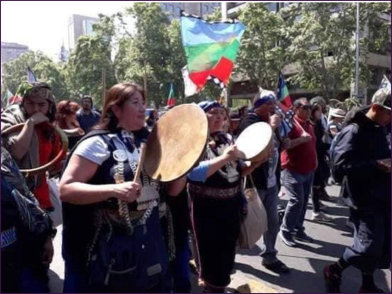 Chili : la lutte continue pour le peuple Mapuche.