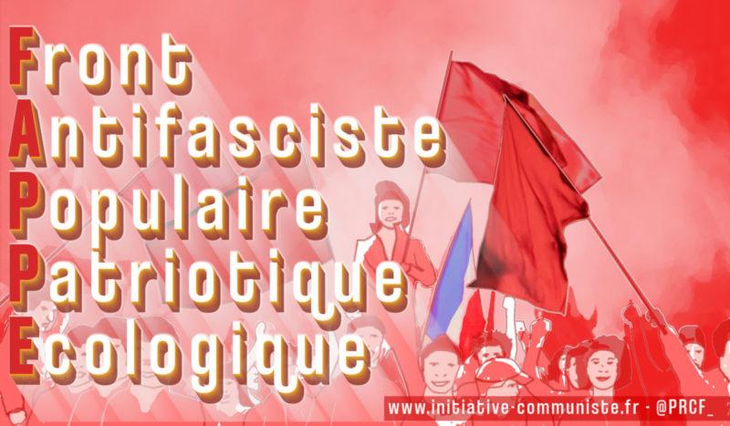 Solidarité contre le fascisme et unité pour lutter contre l'euro-criminalisation du communisme !