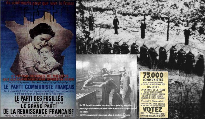 9 novembre (1970), 11 novembre (1940) : face aux collabos révisionnistes, défendons la Résistance communiste !