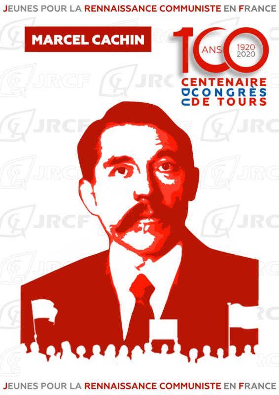 #100ansduCongrèsdeTours : Marcel Cachin