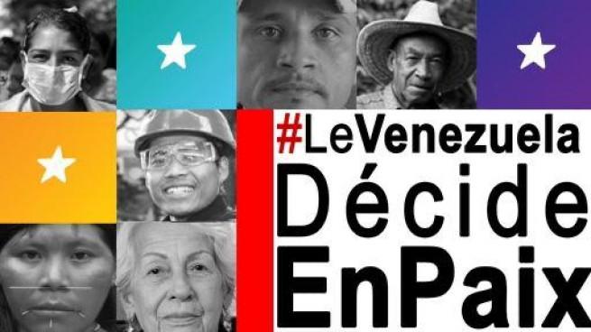 MANIFESTE DE SOUTIEN AU PEUPLE VÉNÉZUÉLIEN et au processus électoral du 6 décembre 2020 (CFSPVenezuelien)