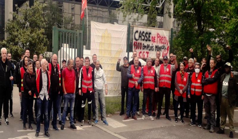 """Presse : """"pour un pôle public de la distribution"""" – entretien avec Guillaume Dumoulin CGT SAD"""