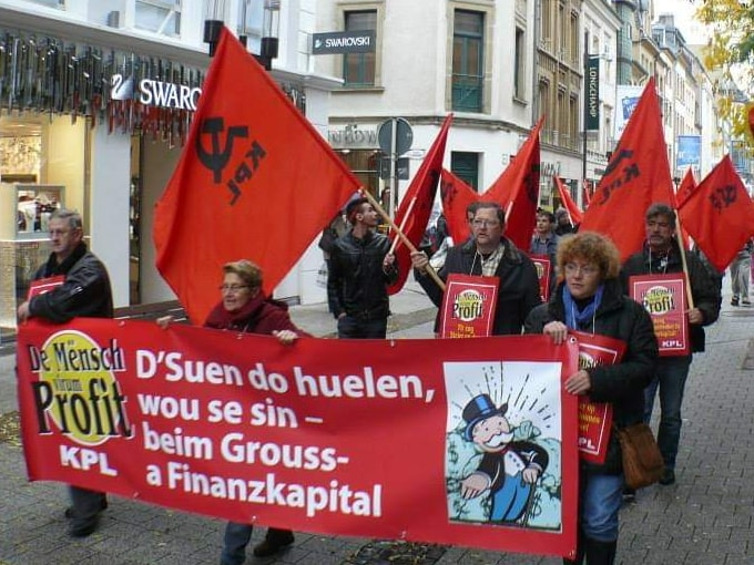 Les communistes luxembourgeois célèbrent le 100e anniversaire de la fondation de leur parti