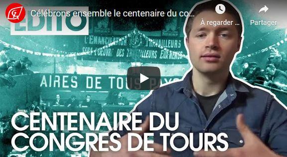 Célébrons ensemble le centenaire du congrès de Tours ! – l'appel des JRCF #100ansduCongrèsdeTours
