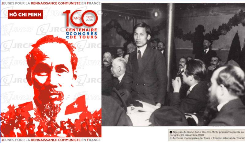 #100ansduCongrèsdeTours : avec Ho Chi Minh solidarité internationale et décolonisation au coeur de la création du Parti Communiste.