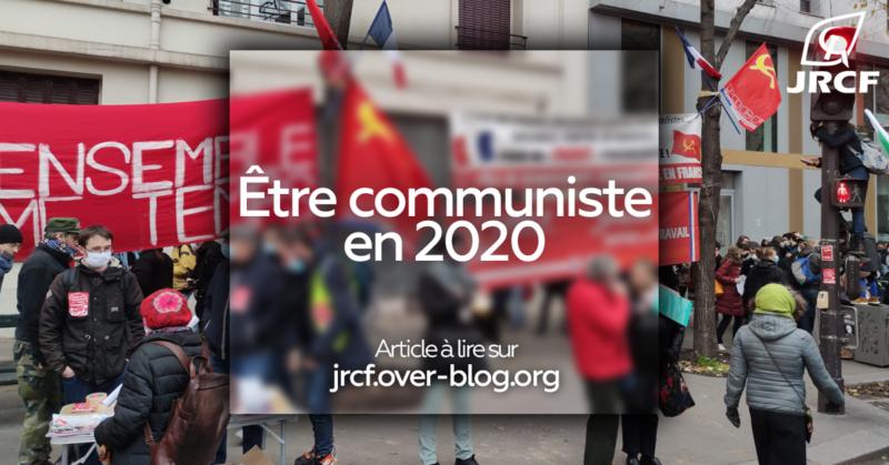 Pourquoi je suis communiste ? Pourquoi un parti communiste est nécessaire ?  par les JRCF #100ansduCongrèsduTours