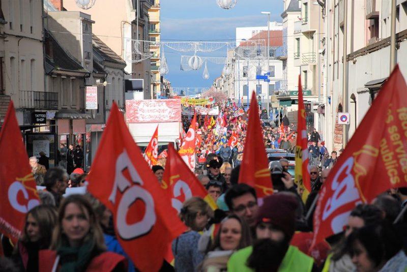 Le 1er mai sera unitaire :  Ensemble pour les droits sociaux et les libertés {CGT,FSU,FO,SOLIDAIRES}