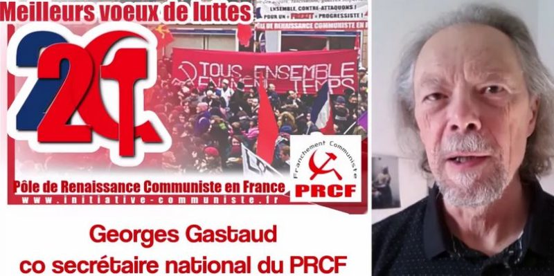 Santé, solidarité, combativité : les vœux du PRCF en ce 1er janvier à 19h30, en vidéo
