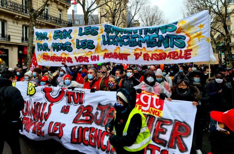 Appel de TUI, succès de la manifestation contre les licenciements à Paris : vers le tous ensemble des luttes ?
