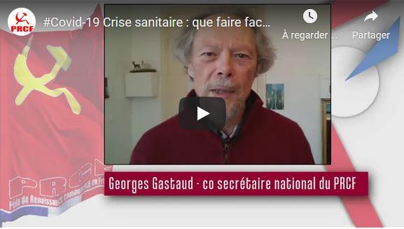 #COVID19 Crise sanitaire : Agir face à la désastreuse politique de Macron, l'UE &Cie – par Georges Gastaud
