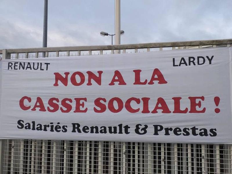 Plan de licenciement dans l'automobile : entretien avec Florent de la CGT Renault-Lardy (91)