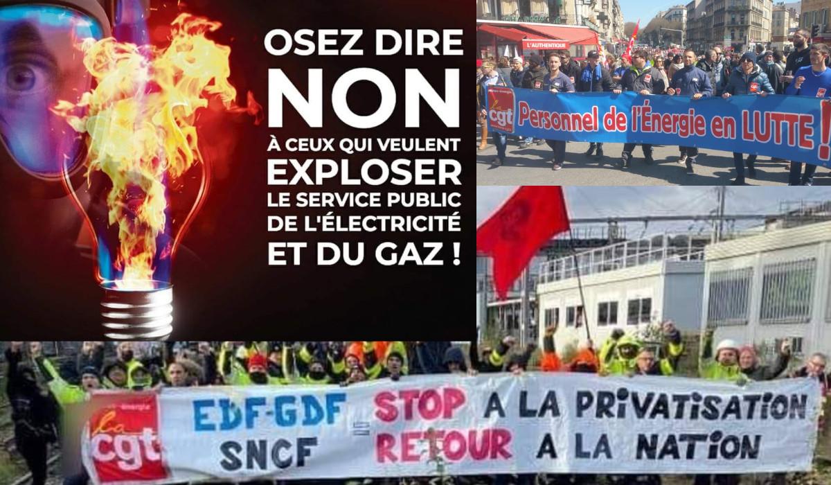 Pour stopper le plan Hercule grève ce 14 janvier : entretien avec R. Henry,  délégué CGT Énergie à Marseille. - INITIATIVE COMMUNISTE