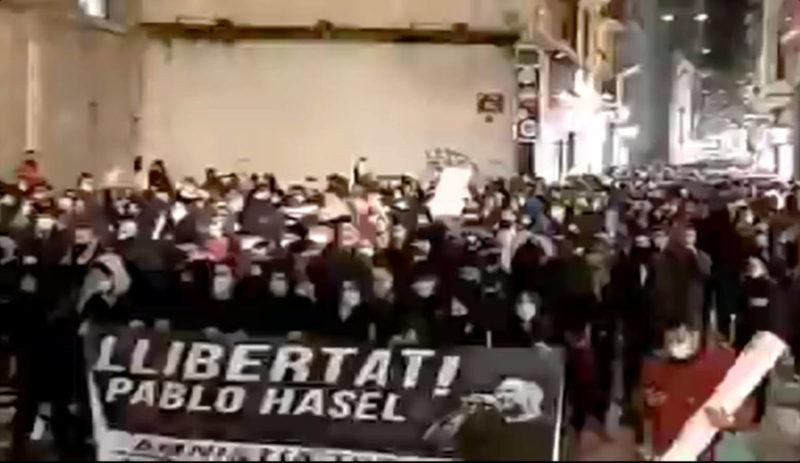 Espagne : Liberté pour Pablo Hasél