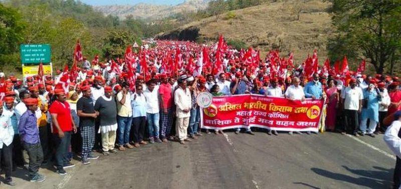 L'immense mouvement populaire en Inde se poursuit : solidarité avec les paysans et les communistes indiens.