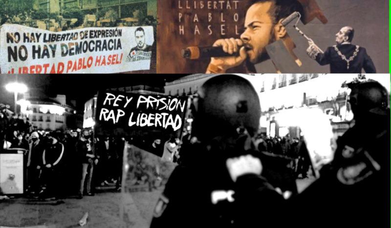 Pourquoi Pablo Hasél a été mis en prison (video et chant)