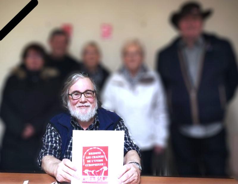 SECRÉTAIRE DE LA SECTION DE BULLY-LES-MINES DU PÔLE DE RENAISSANCE COMMUNISTE EN FRANCE, NOTRE CAMARADE JEAN-MICHEL PADOT VIENT DE MOURIR