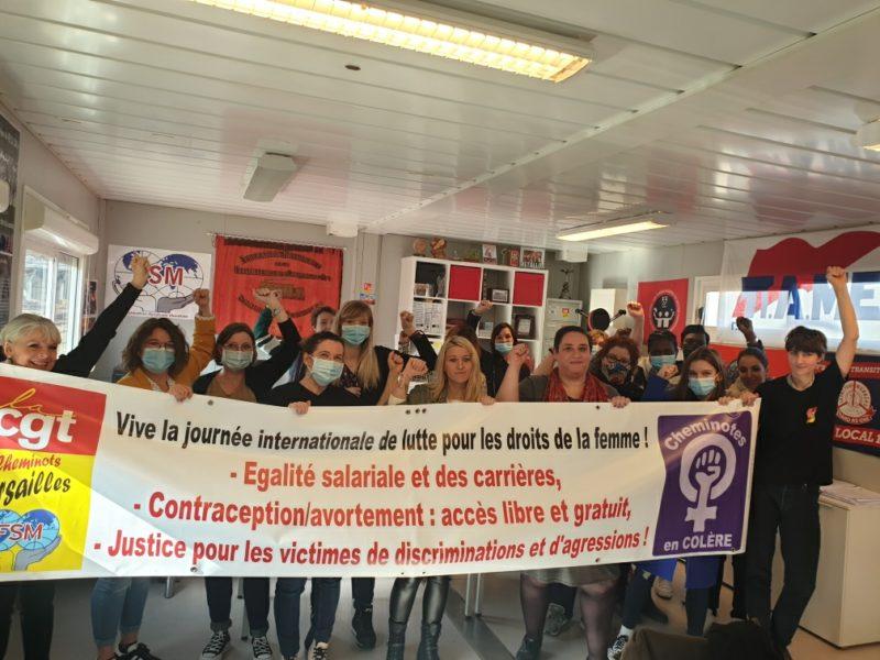 Retour sur la journée d'étude pour les droits des femmes organisée par la CGT Cheminots Versailles