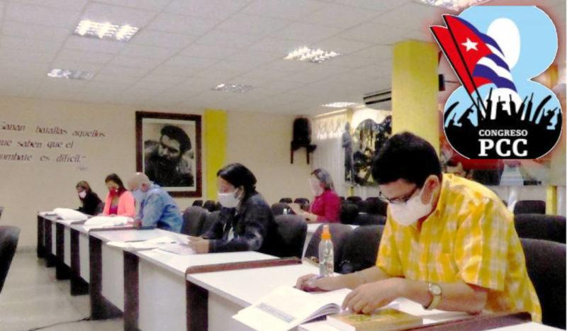 VIII congrès du Parti Communiste de Cuba : des congressistes bien préparés.