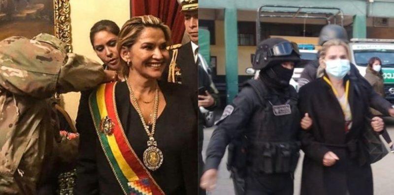 Bolivie : la chef de la sanglante junte fasciste Añez arrêtée