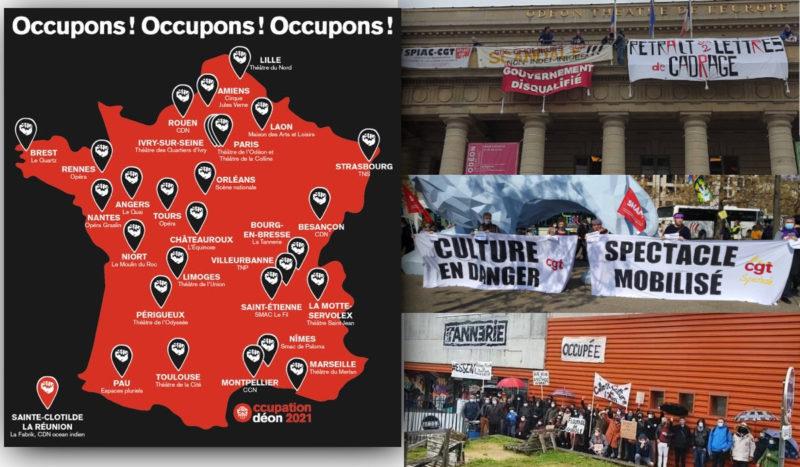 Pour la culture et contre la réforme de l'assurance chômage, les occupations de théâtres se multiplient !