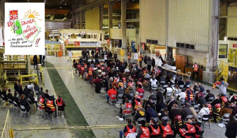 Industrie et protection de l'environnement: une nécessaire conjugaison pour l'avenir! La Chapelle- Darblay et son usine de recyclage de papier.