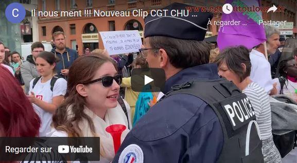 Macron nous ment : le nouveau clip de la CGT de l'hôpital de Toulouse.