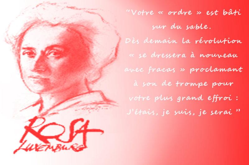Le 5 mars 1871. Il y a 150 ans naissait Rosa Luxemburg