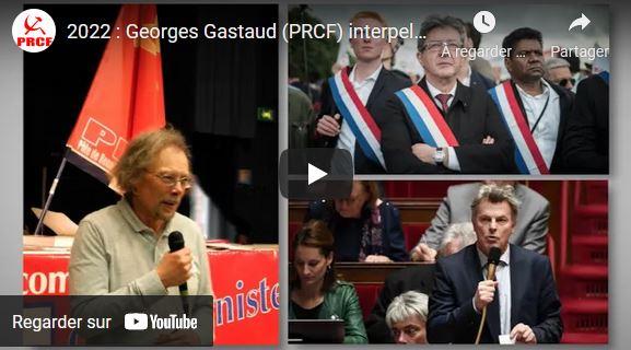 2022 : Georges Gastaud interpelle en vidéo Jean-Luc Mélenchon et Fabien Roussel – @JLMelenchon @Fabien_Rssl