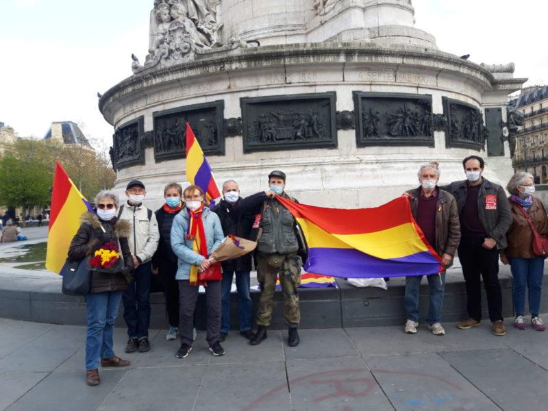 Paris : ce 17 avril aux cotés de Cuba socialiste après ce 14 avril avec les républicains espagnols.