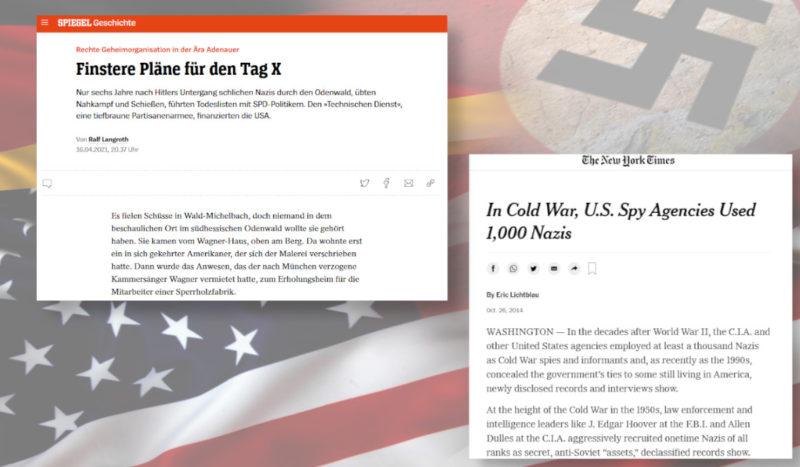Dans les années 1950  les USA finançaient en Allemagne une organisation paramilitaire nazie