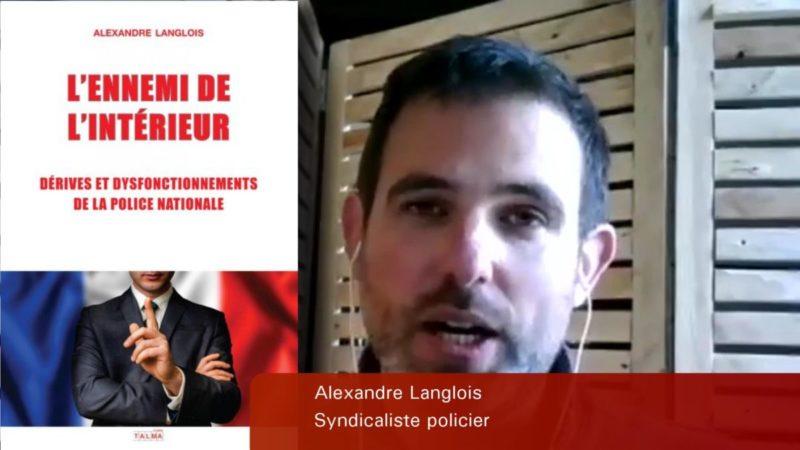 #vidéo Police, sûreté, démocratie : Alexandre Langlois, policier, débat avec Fadi Kassem.