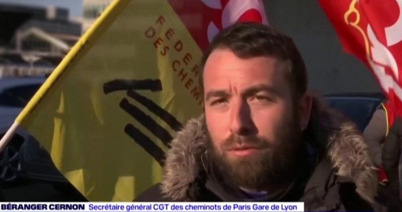 Vidéo :Entretien avec Bérenger Cernon – CGT Cheminots Gare de Lyon