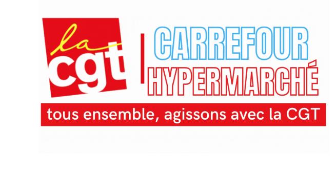 Les salariés de Carrefour en lutte